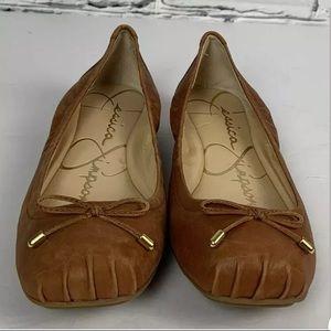 Jessica Simpson Melikah Ballet Flat Shoes Size 8